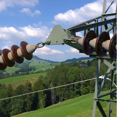 Bild von Infrastruktur Inspektion mit Luftaufnahmen