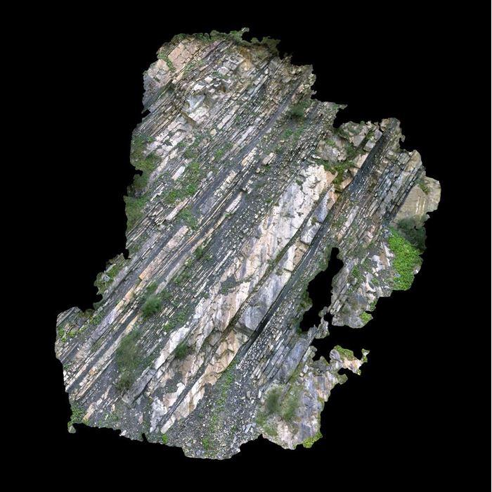 Bild von Photogrammetrie Projekt mit Luftaufnahmen