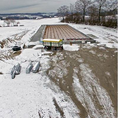 Bild von Baustelle dokumentieren mit Luftaufnahmen