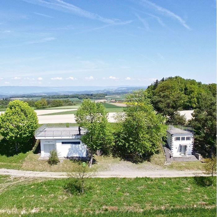 Bild von Immobilie dokumentieren mit Luftaufnahmen